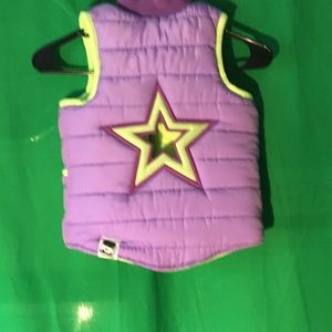 Pop Out Toddlers puffer Vest Size 2/3 age